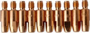Duza de contact TBi M6 L28mm pentru sarma 0.8mm set de 10buc Accesorii Sudura