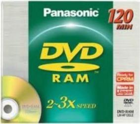 DVD-RAM 4.7GB 120 min 3X Panasonic 1 buc