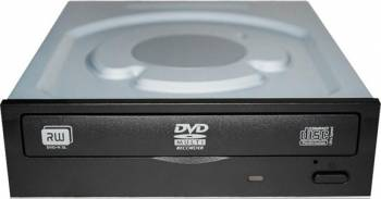 DVD Writer Intern Lite On IHAS124-14 Bulk Negru Unitati optice