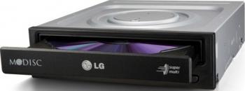 DVD Writer LG GH24NSC0 Bulk Black Unitati optice