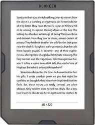 eBook Reader Bookeen Cybook Muse HD 8GB Black eBook Reader