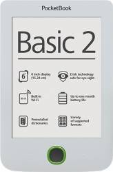 eBook Reader PocketBook Basic 3 PB614 8GB White eBook Reader