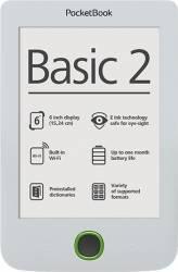 eBook Reader PocketBook Basic 3 PB614 8GB White eBook Reader