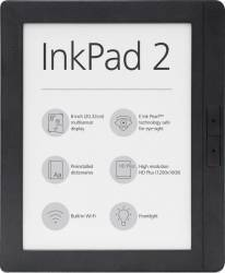 eBook Reader PocketBook InkPad 2 Mist Grey Bonus Husa PocketBook eBook InkPad