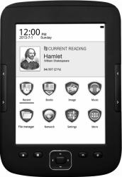 eBook Reader Prestigio MultiReader SUPREME 4GB Black