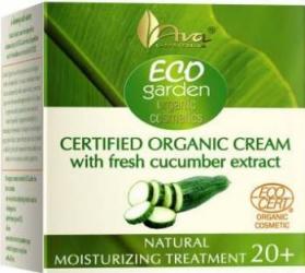 Crema de zi Ava Laboratorium Eco Garden hidratanta cu extract de castravete