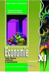 Economie - Clasa 11 - Manual - Georgeta Georgescu Elena Viorica Mocanu