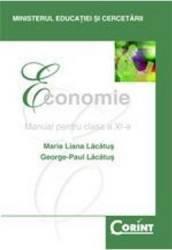 Economie cls 11 - Maria Liana Lacatus George-Paul Lacatus