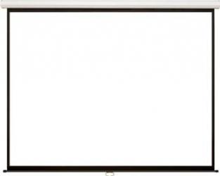 Ecran de proiectie 4World electric pe perete 244 x 183 cm Ecrane Proiectie