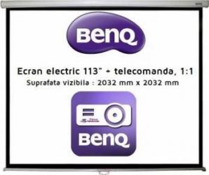 Ecran de proiectie Benq electric 113inchi 1:1 Accesorii Videoproiectoare
