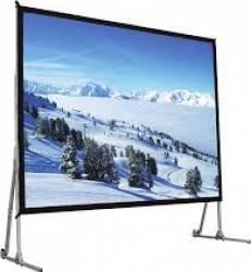 Ecran de proiectie cu stand Ligra 320 x 244 cm Ecrane Proiectie