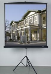 Ecran de proiectie cu trepied Vega Universal TRP 200 213 x 213 cm