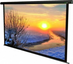 Ecran De Proiectie Elcetric Sopar Lorenzo 160 x 160 cm Ecrane Proiectie