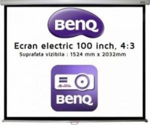 Ecran De Proiectie Electric BenQ 100 inch Ecrane Proiectie