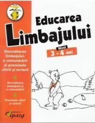 Educarea limbajului 3-4 sni