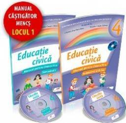 Educatie civica cls 4 sem.1+2 + CD - Daniela Barbu title=Educatie civica cls 4 sem.1+2 + CD - Daniela Barbu