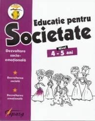 Educatie pentru societate 4-5 ani