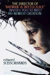 Edward Scissorhands DVD 1990 Filme DVD