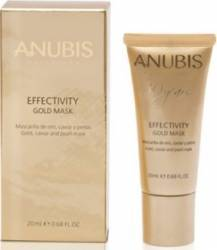 Masca de fata Anubis Effectivity Gold Mask