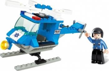 Elicopter de politie Sluban Town M38-B0175 Lego