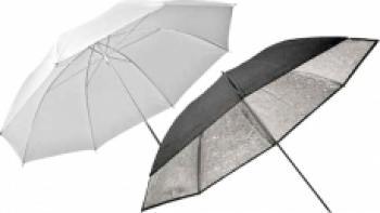 Elinchrom 26062 Umbrella Set Silver-Translucent 83cm Accesorii Blitz-uri si Lumini