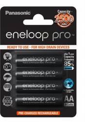 Eneloop acumulator Ni-MH AA (R6) 2450 mA cod 52333099/BK-3HCDE/4BE 4 bucati Acumulatori Baterii Incarcatoare