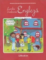 Engleza - Clasa a 4-a - Semestrul 1 + CD - Elena Sticlea Valentina Barabas Carti