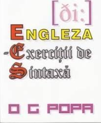 Engleza - Exercitii de sintaxa - O.G. Popa