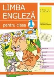Engleza cls 1 caiet - Marinela Dinuta