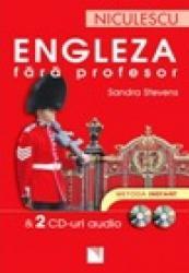 Engleza fara profesor 2 CD-uri audio. Metoda instant - Sandra St
