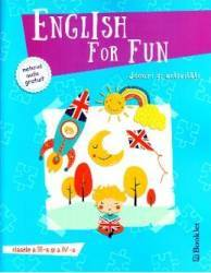 English for Fun. Jocuri si activitati - Clasele 3 si 4