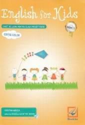English for Kids. Caiet - Clasa pregatitoare - Cristina Mircea Carti