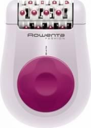 Epilator Rowenta EP1030F5 24 pensete 2 viteze Functie masaj Alb-Roz