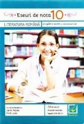 Eseuri de nota 10. Romana pentru BAC - Aurelia Nedelcu Janet Popoiu Carti