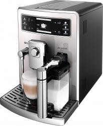 Espressor automat Saeco Xelsis Evo HD8953/19, 1500W, 15 bar, 1.6l, recipient lapte 0.5l, Negru/Argintiu