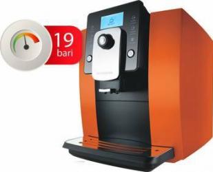 Espressor automat Oursson AM6244/OR, 1400 W, 19 Bar, Rasnita ceramica, Portocaliu  Espressoare