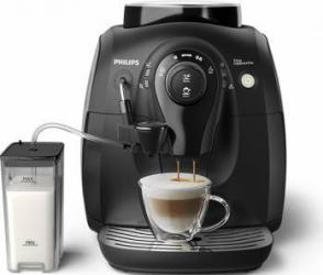 Espressor automat Philips HD8652/91 1l 1400W 15 bar Rasnite 100% ceramice Espresso Cappuccino Espressoare