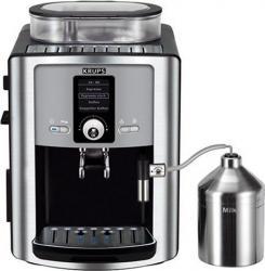 Espressor Krups EA 8050, 1.8 l, 15 bari, Negru/Argintiu