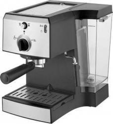 Espressor manual Arielli KM-470 BS 1470W 1.5L 15 bari Negru-Argintiu