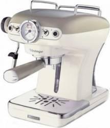 Espressor manual Ariete 1389 Vintage 900W Sistem cappuccino 1-2 cesti 15 Bar Bej Espressoare