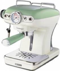 Espressor manual Ariete 1389 Vintage 900W Sistem cappuccino 15 Bar Verde Espressoare