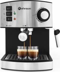 Espressor manual Rohnson R972 15 bari 850W 1.6l Sistem de spumare Inox Espressoare