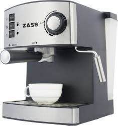 Espressor manual Zass ZEM 04, 850W, 15 bari, Silver Espressoare