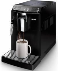 Espressor Philips EP401000 Sistem filtrare AquaClean Tehnologie CoffeeSwitch Optiune cafea macinata 4 bauturi Negru Espressoare