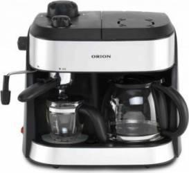 Espressor si cafetiera Orion OCCM-4616 1800W 1,25L Cafea macinata Negru-Argintiu