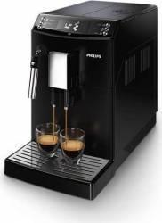 Espressor super-automat Philips EP351000 sistem AquaClean sistem spumare a laptelui 5 setari intensitate Negru Espressoare