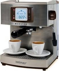 Espressor Zelmer Maestro 13Z012 1050W Dispozitiv Spumare 15 Bar 2.1L Inox Espressoare