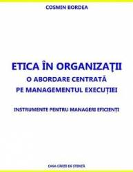 Etica in organizatii - Cosmin Bordea