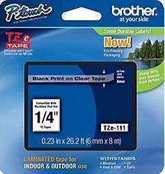 Etichete Brother TZE111