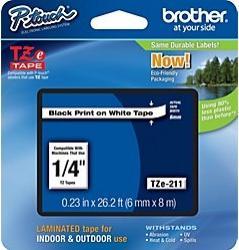 Etichete Brother TZE211